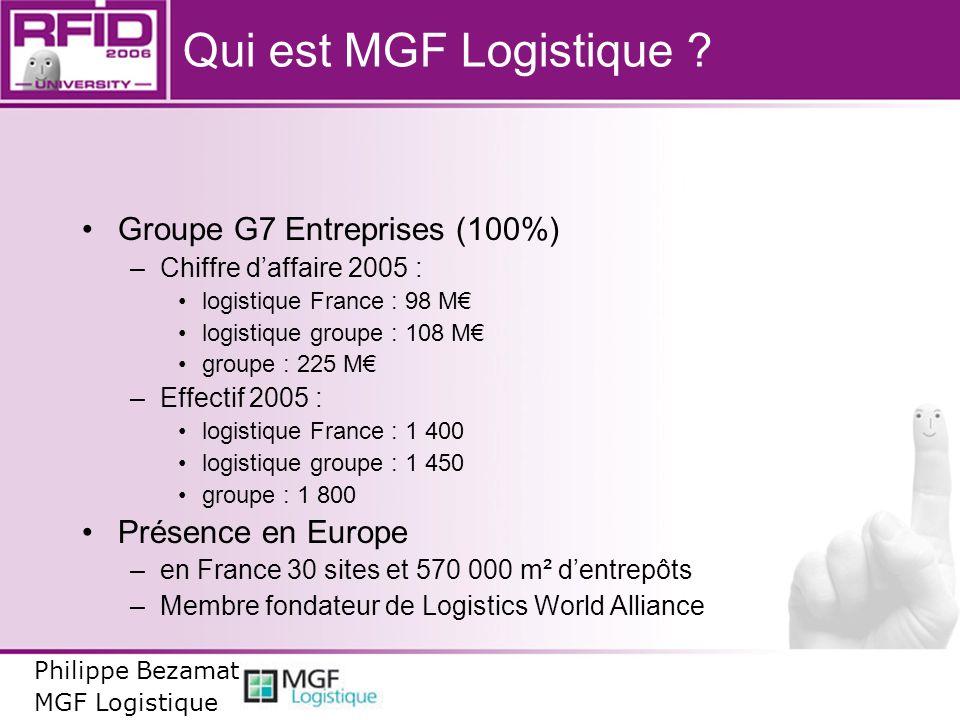 Qui est MGF Logistique Groupe G7 Entreprises (100%)