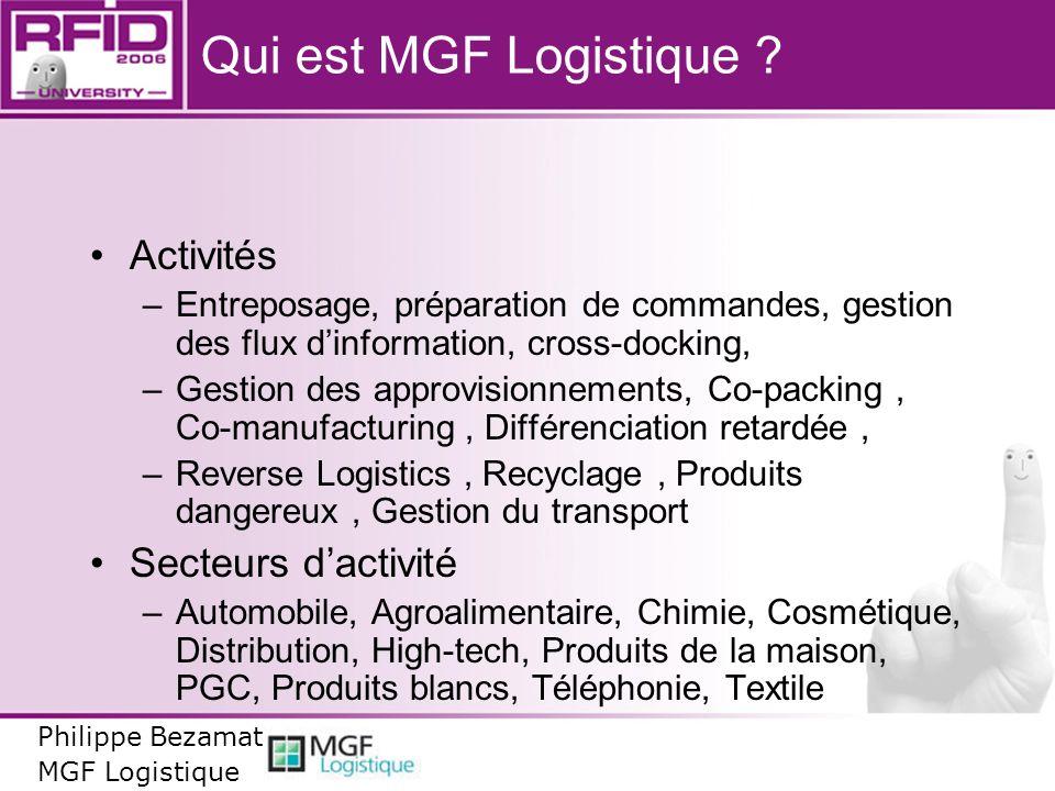 Qui est MGF Logistique Activités Secteurs d'activité