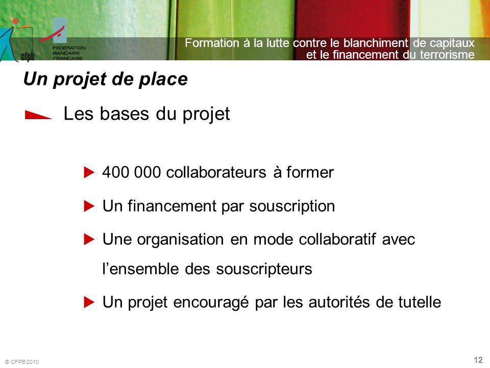 Un projet de place Les bases du projet 400 000 collaborateurs à former