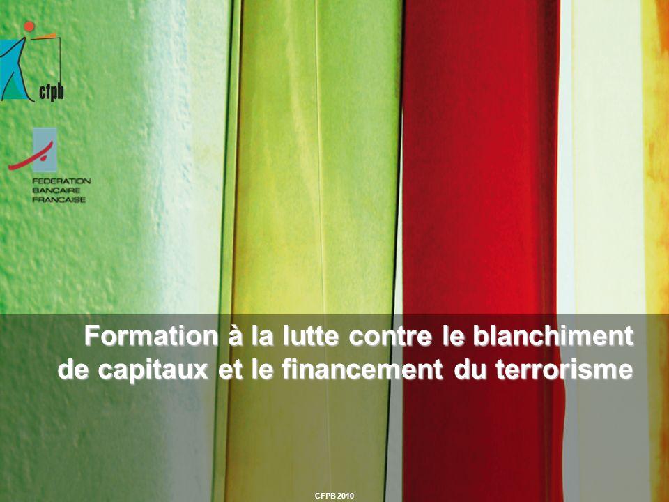 Formation à la lutte contre le blanchiment de capitaux et le financement du terrorisme