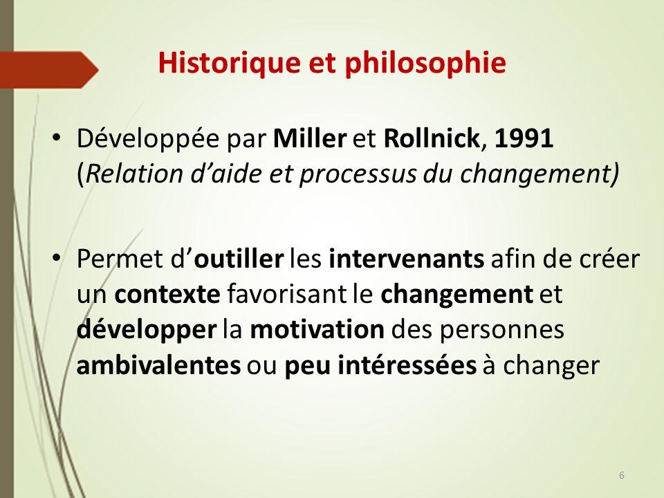 Historique et philosophie