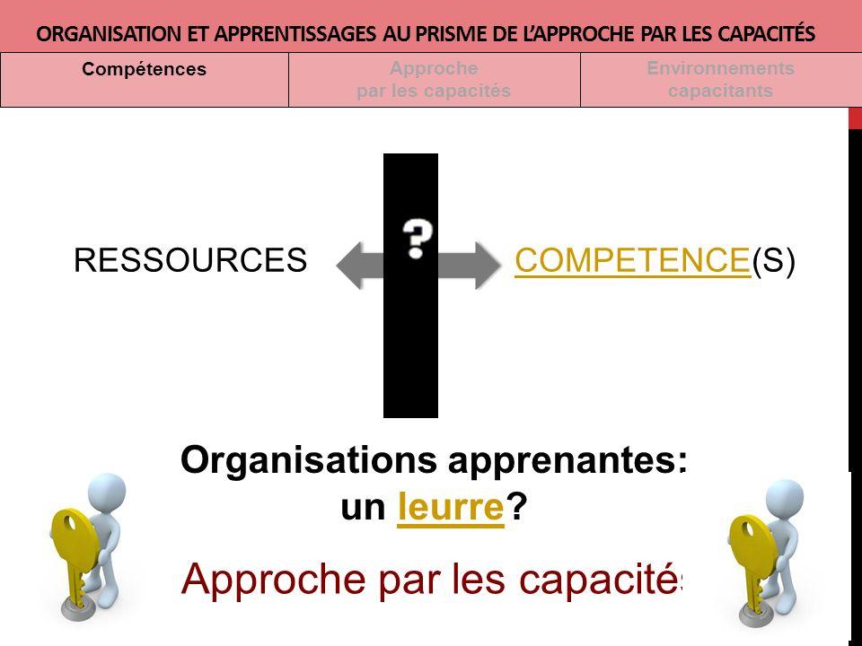 Organisations apprenantes: