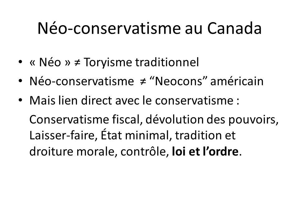 Néo-conservatisme au Canada