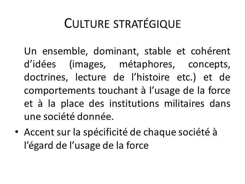 Culture stratégique