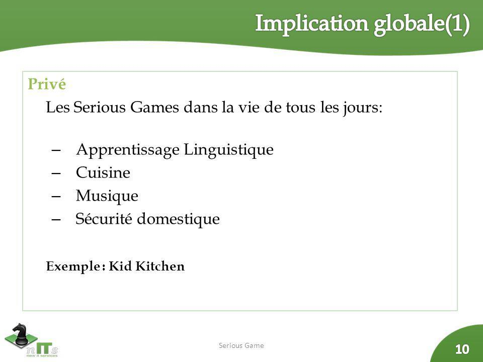 Implication globale(1)