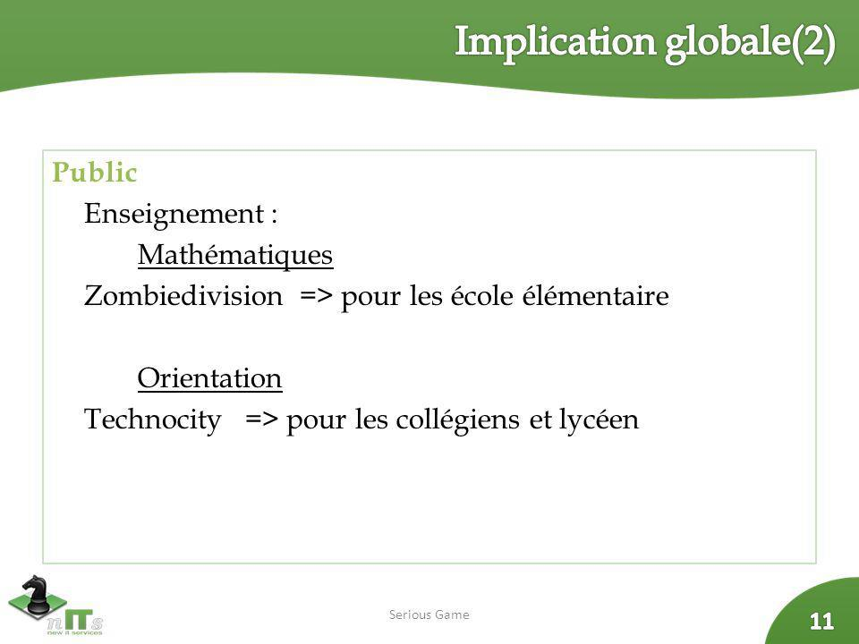 Implication globale(2)