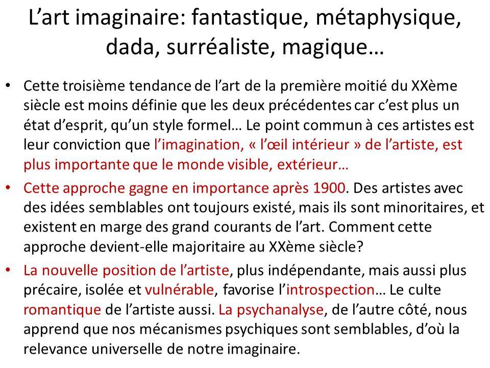 L'art imaginaire: fantastique, métaphysique, dada, surréaliste, magique…