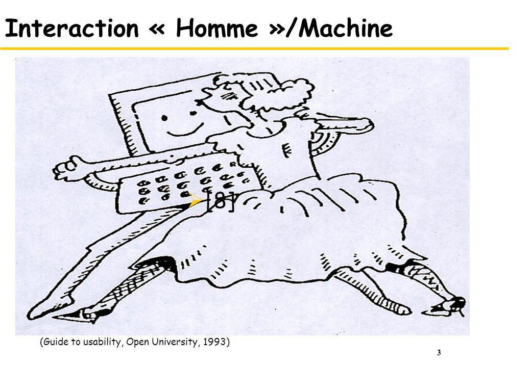 Interaction « Homme »/Machine