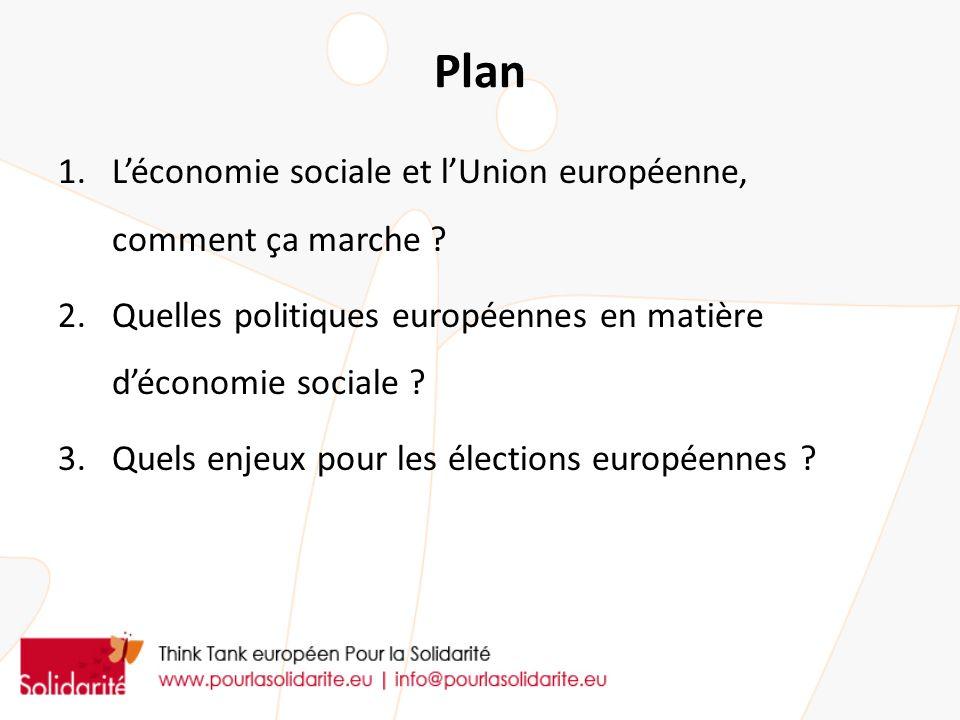Plan L'économie sociale et l'Union européenne, comment ça marche