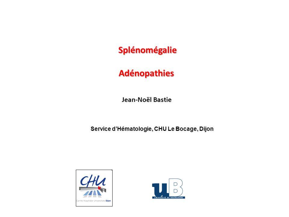 Service d'Hématologie, CHU Le Bocage, Dijon