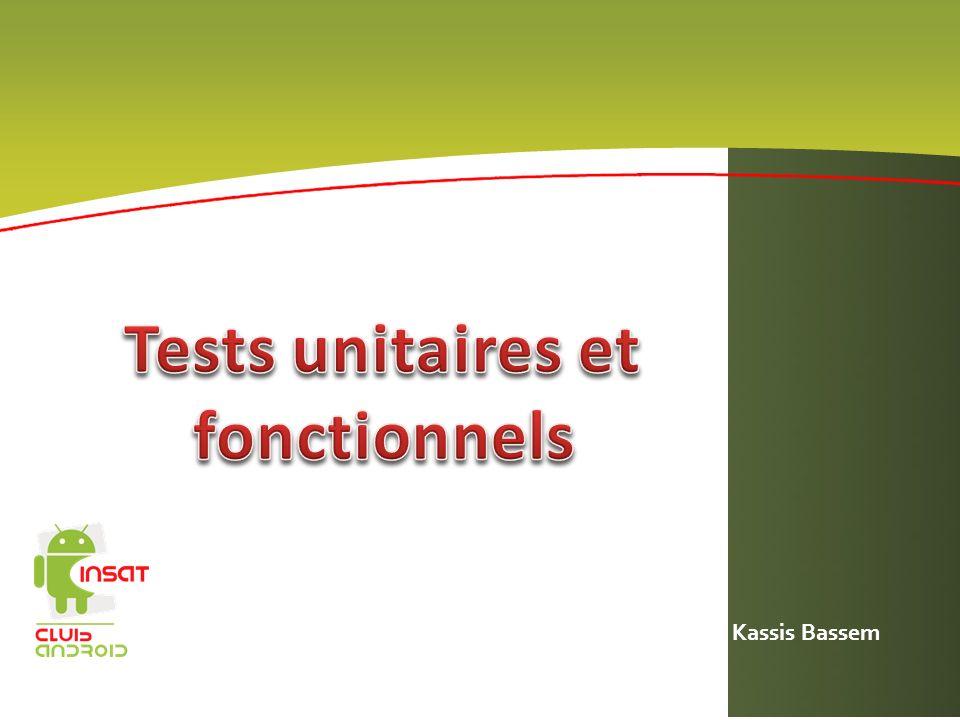 Tests unitaires et fonctionnels