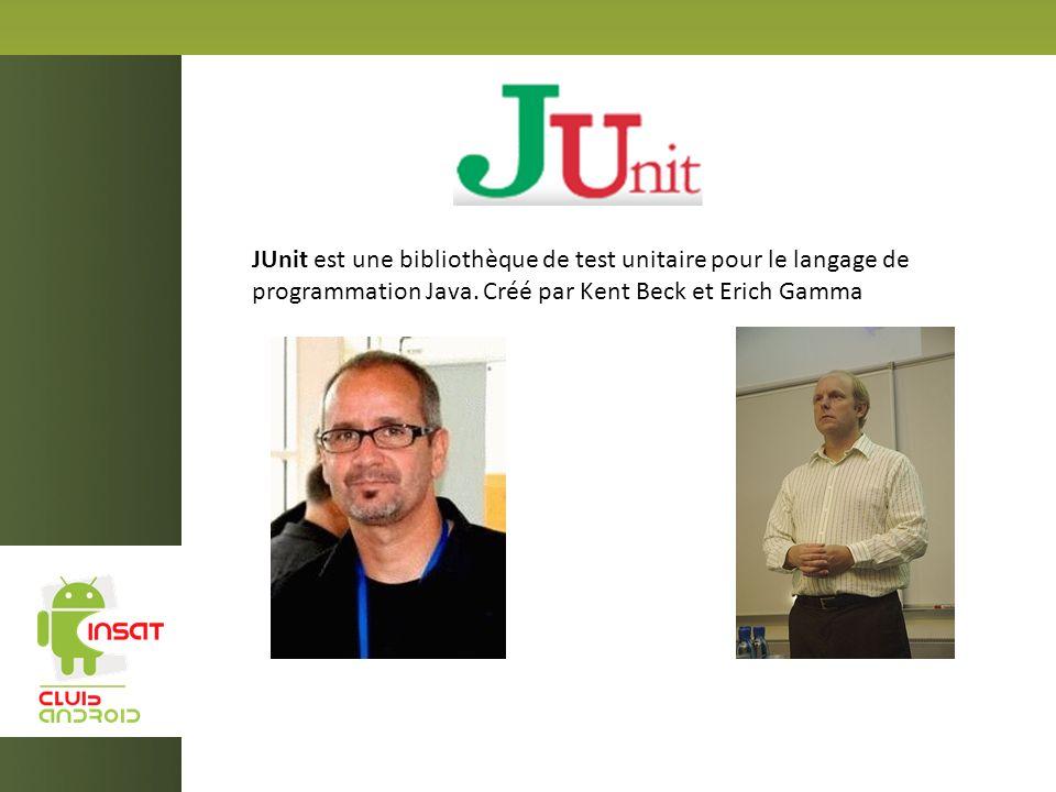 JUnit est une bibliothèque de test unitaire pour le langage de programmation Java.