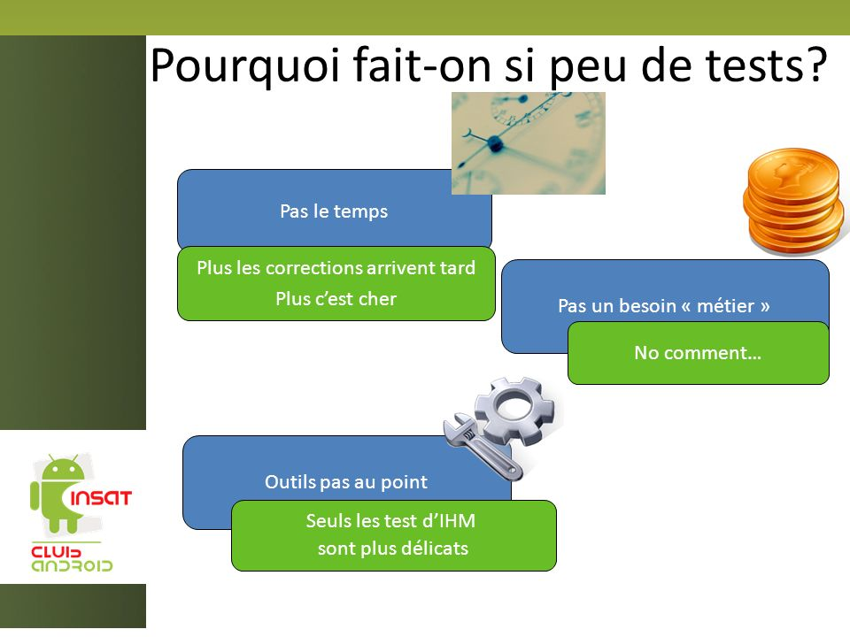 Pourquoi fait-on si peu de tests