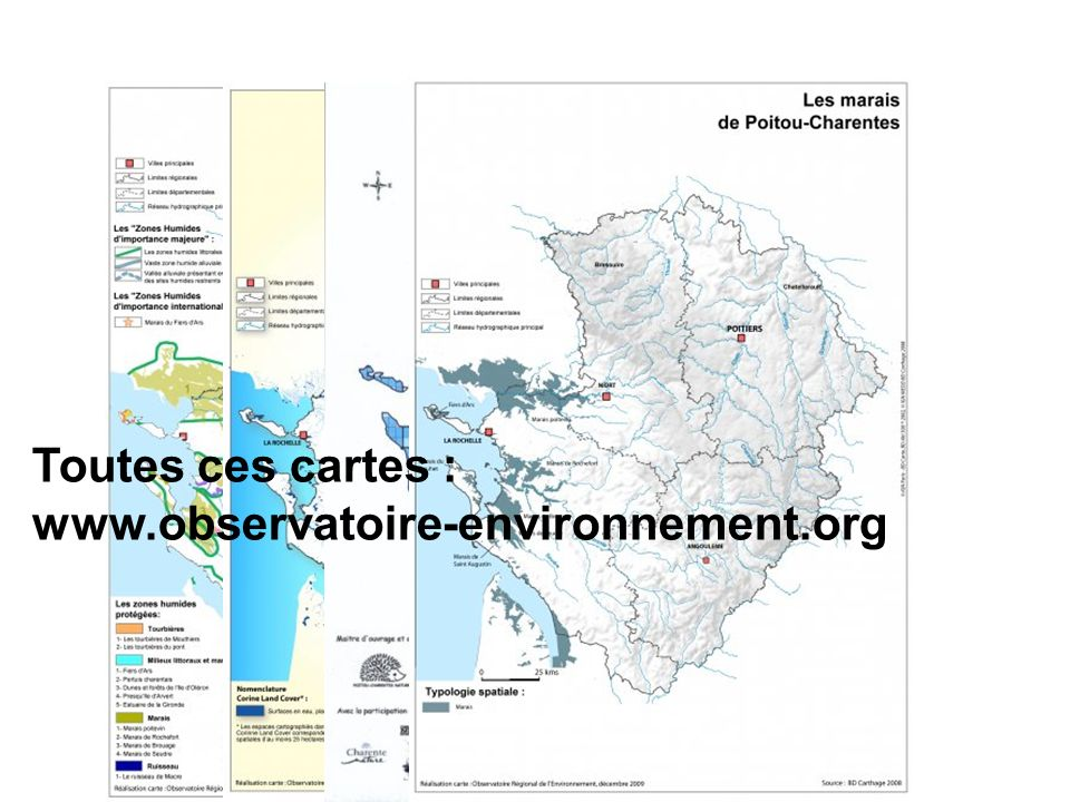 Toutes ces cartes : www.observatoire-environnement.org