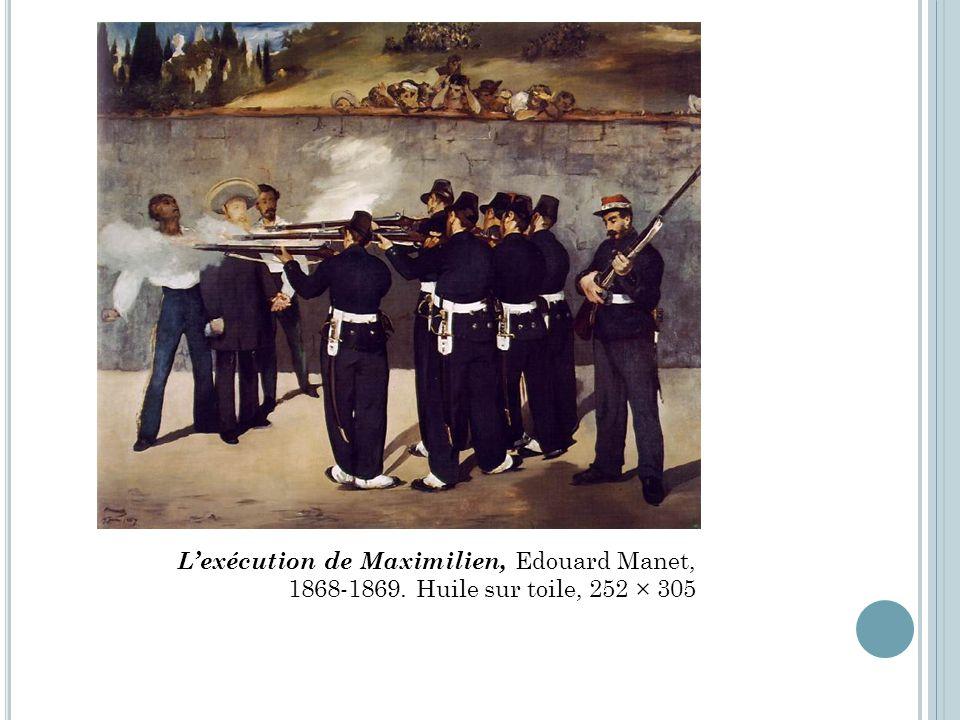 L'exécution de Maximilien, Edouard Manet,