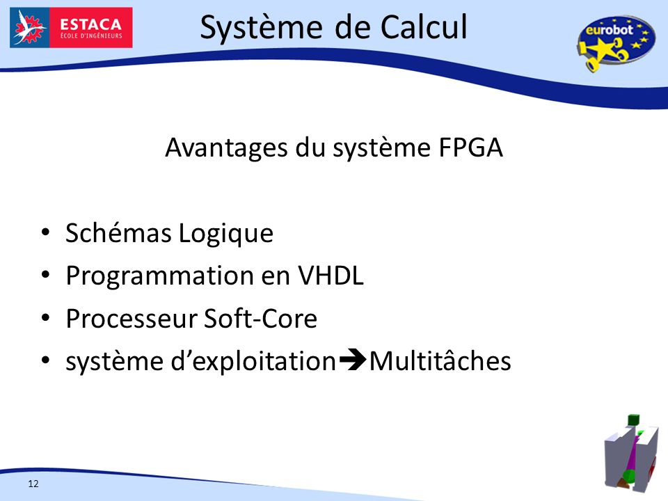 Avantages du système FPGA