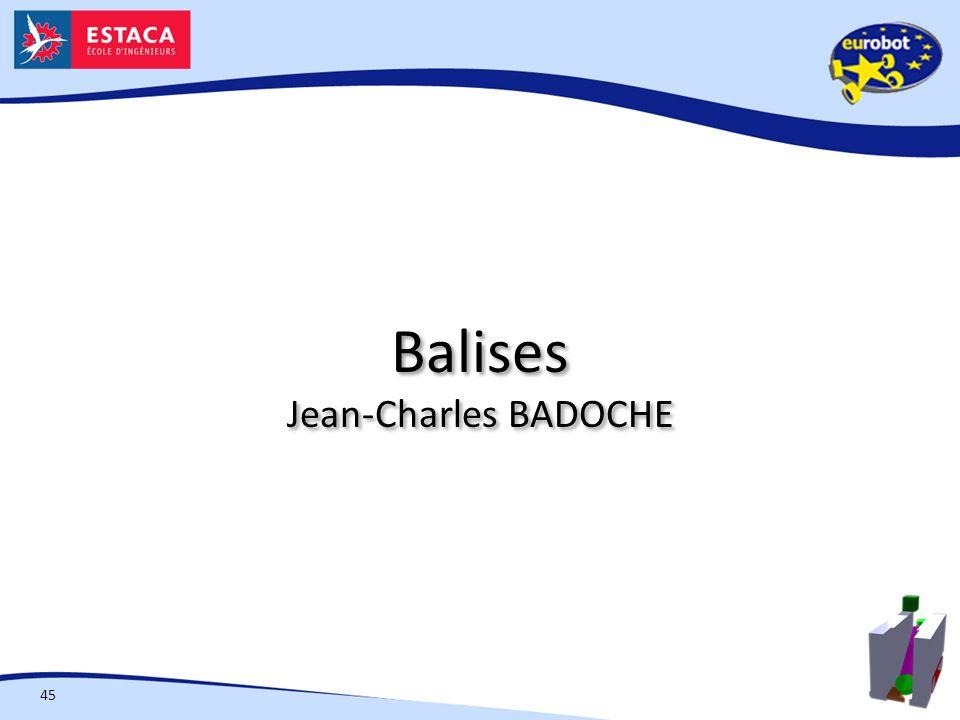 Balises Jean-Charles BADOCHE