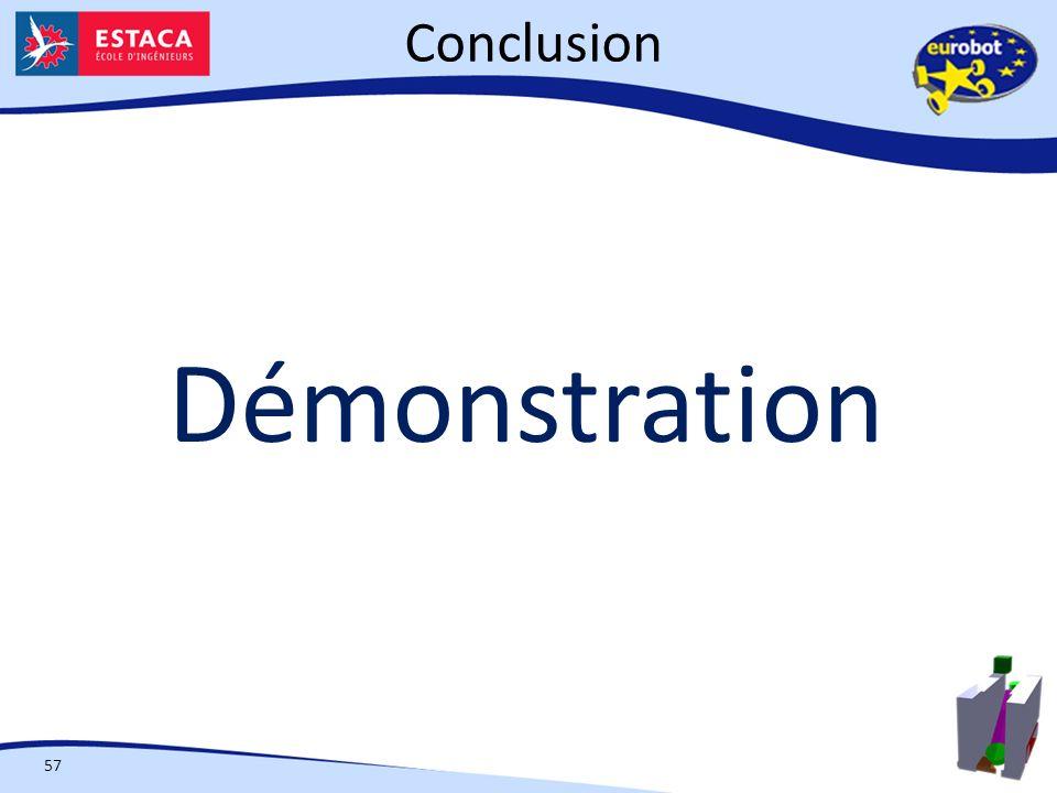 Conclusion Démonstration 57