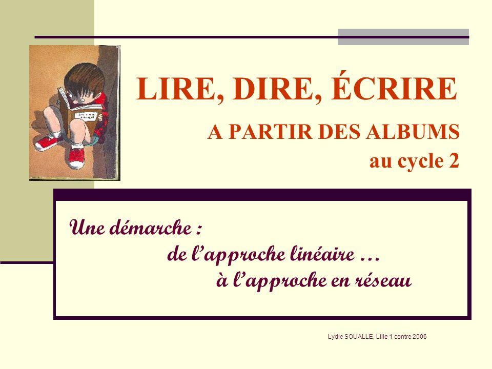 LIRE, DIRE, ÉCRIRE A PARTIR DES ALBUMS au cycle 2