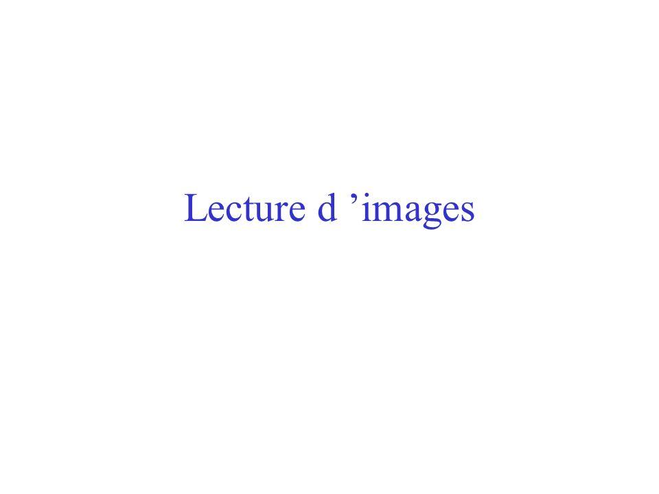 Lecture d 'images