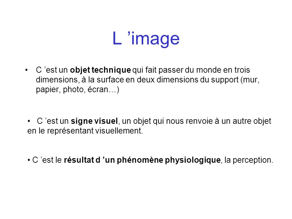 L 'image