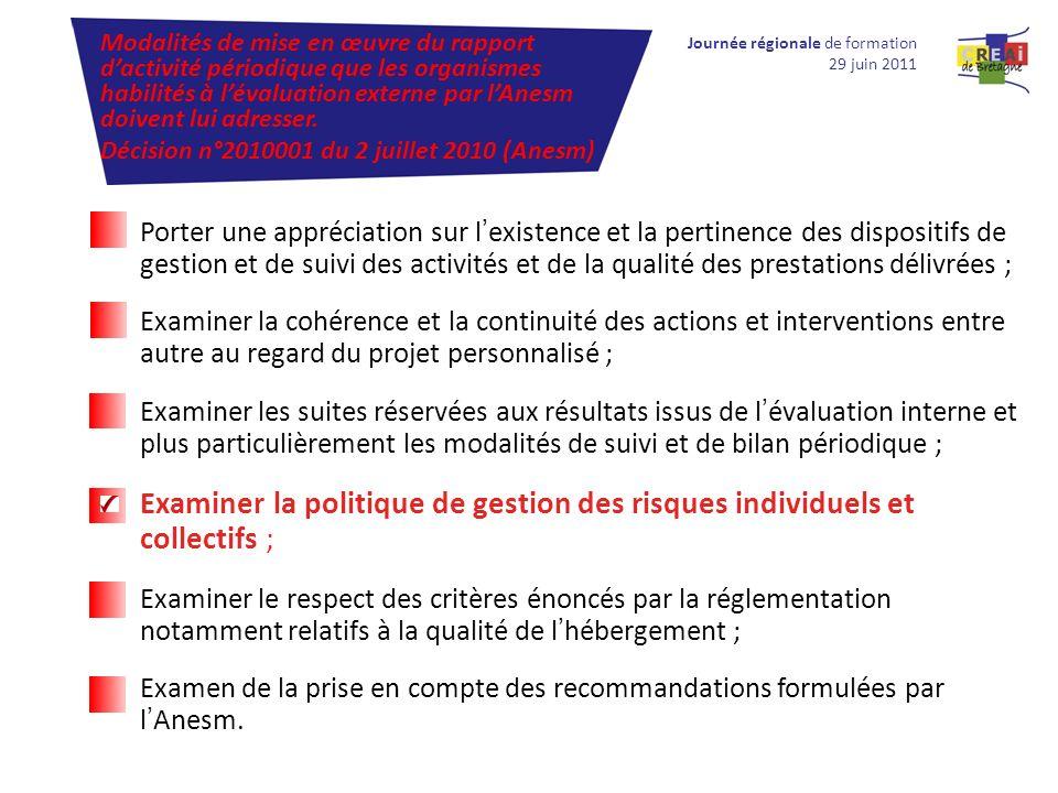 Modalités de mise en œuvre du rapport d'activité périodique que les organismes habilités à l'évaluation externe par l'Anesm doivent lui adresser.