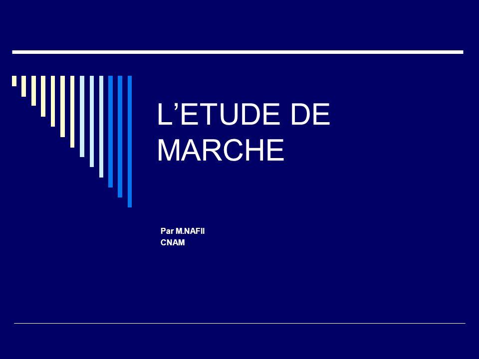L'ETUDE DE MARCHE Par M.NAFII CNAM