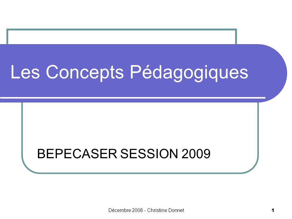 Les Concepts Pédagogiques