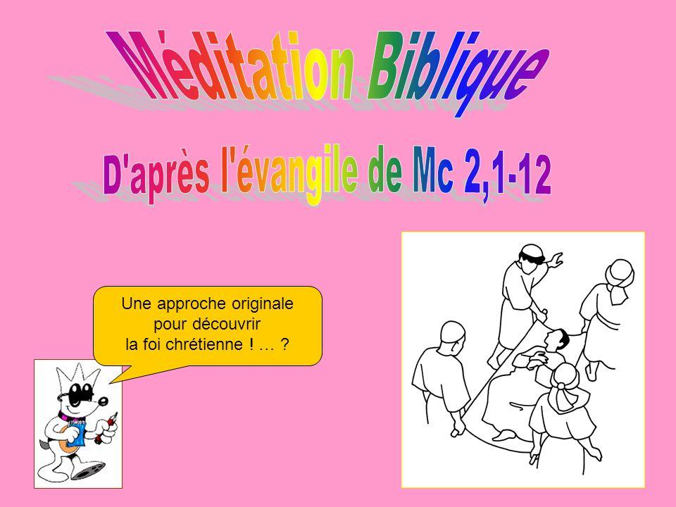 D après l évangile de Mc 2,1-12