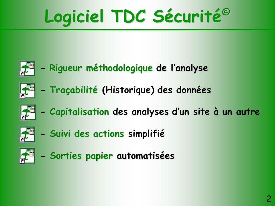 Logiciel TDC Sécurité©