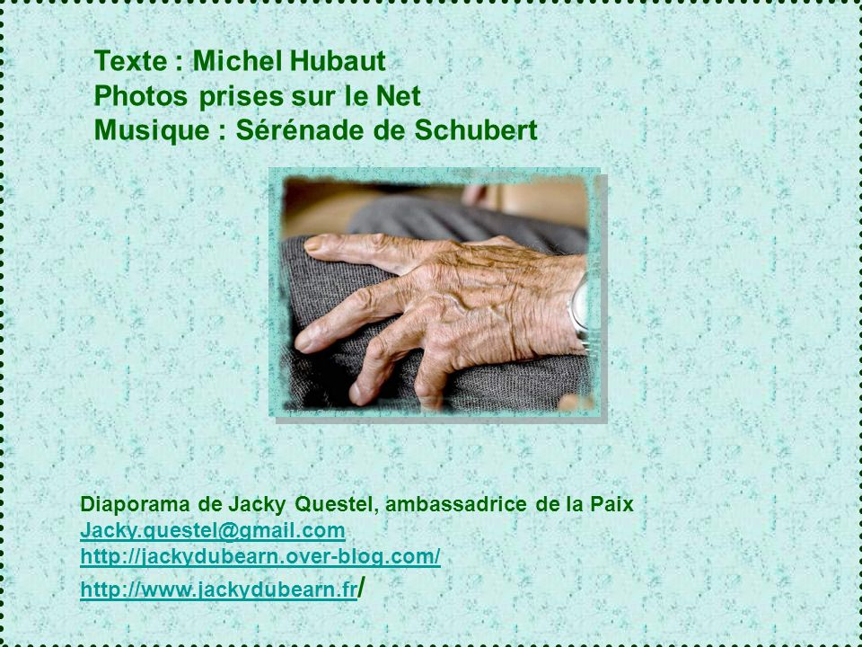 Photos prises sur le Net Musique : Sérénade de Schubert