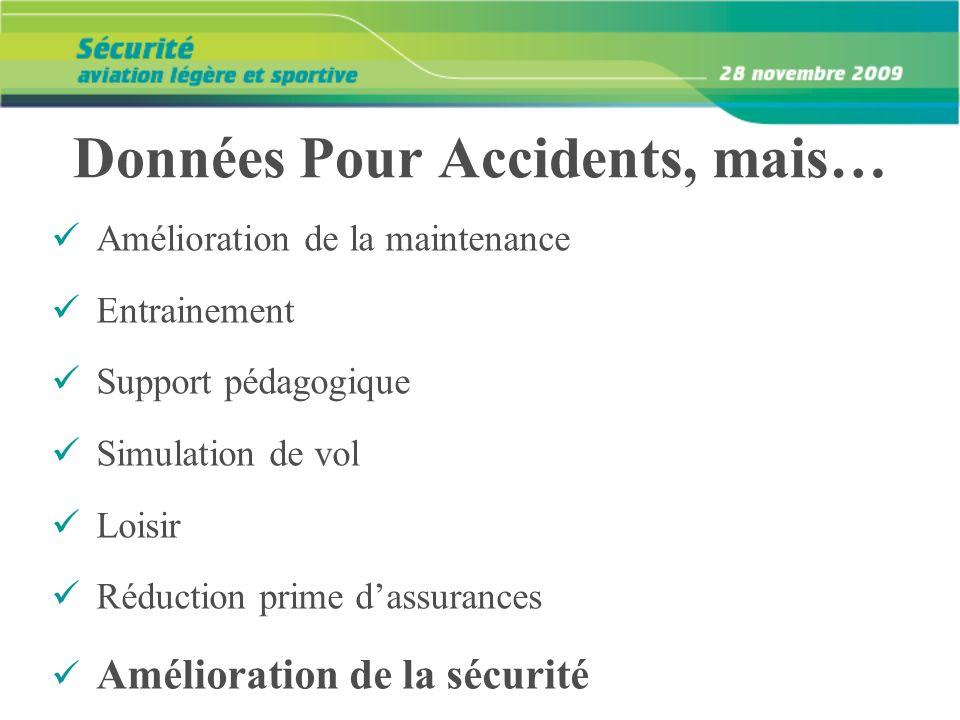 Données Pour Accidents, mais…