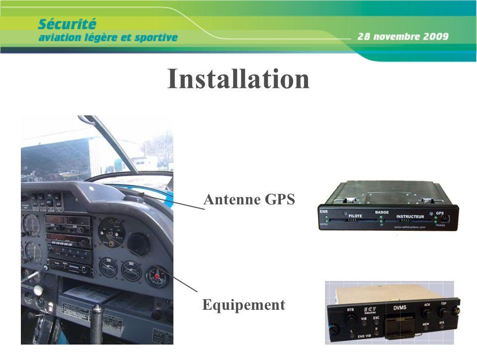 Installation Antenne GPS Equipement