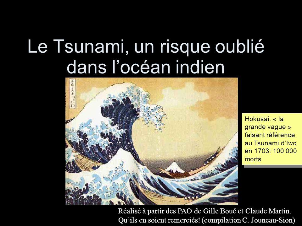 Le Tsunami, un risque oublié dans l'océan indien