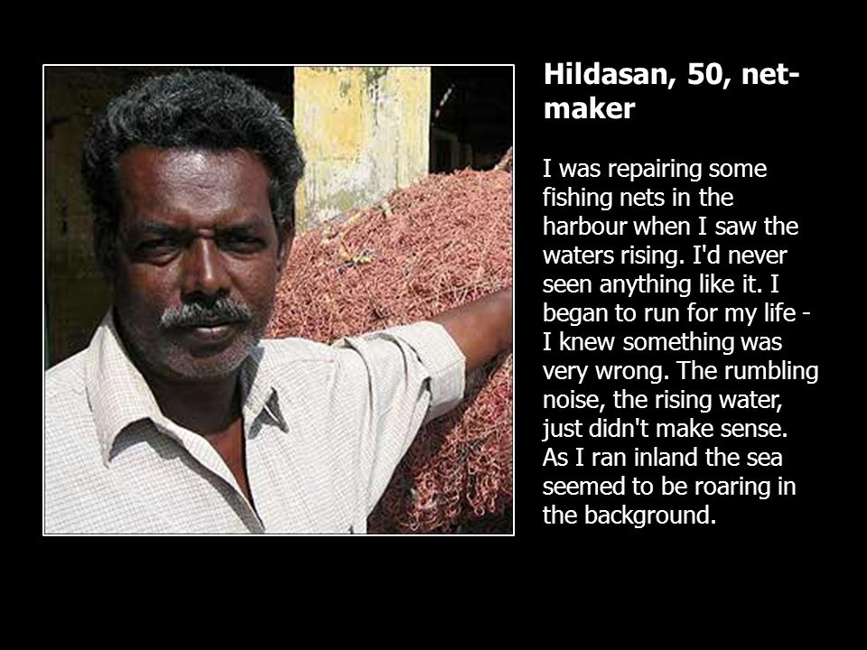 Hildasan, 50, net-maker
