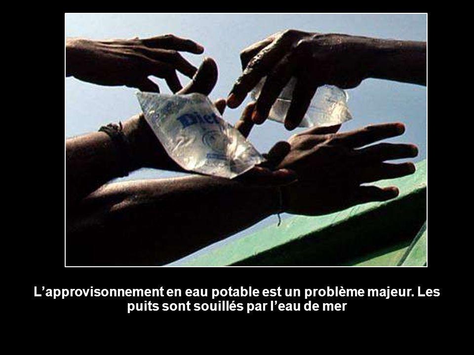 L'approvisonnement en eau potable est un problème majeur