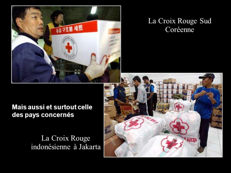La Croix Rouge Sud Coréenne