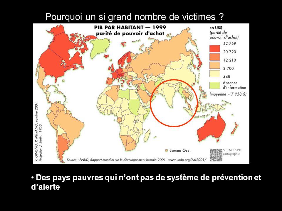 Pourquoi un si grand nombre de victimes