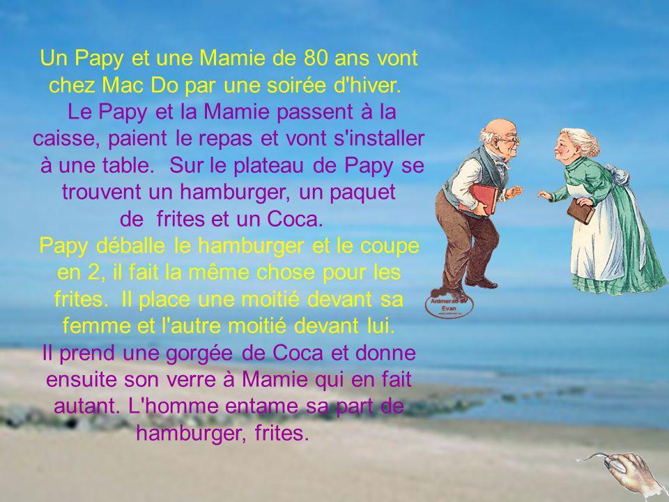 Un Papy et une Mamie de 80 ans vont