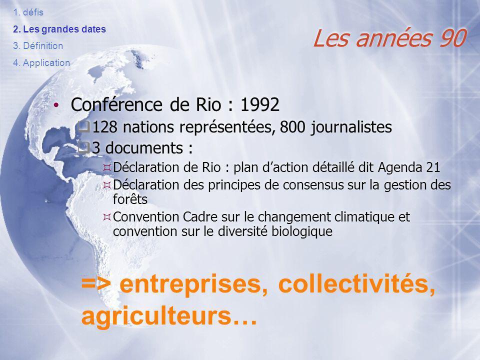 => entreprises, collectivités, agriculteurs…