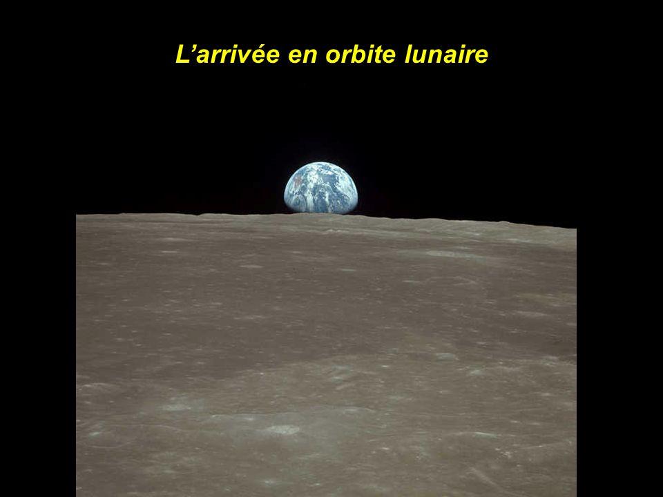 L'arrivée en orbite lunaire