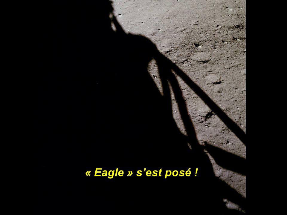 « Eagle » s'est posé !