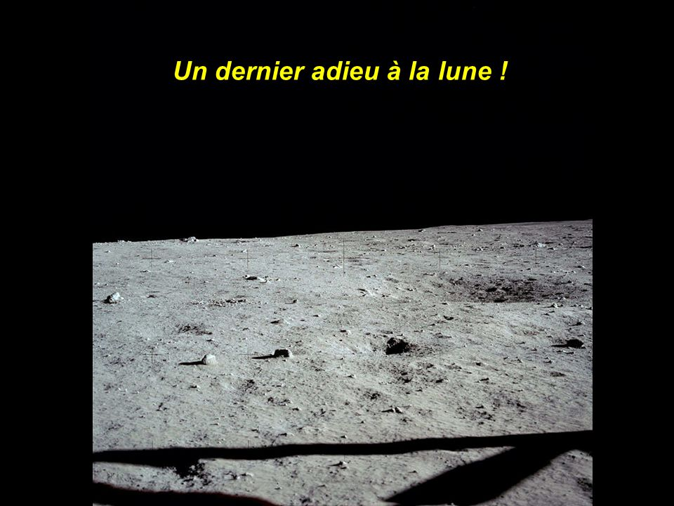 Un dernier adieu à la lune !