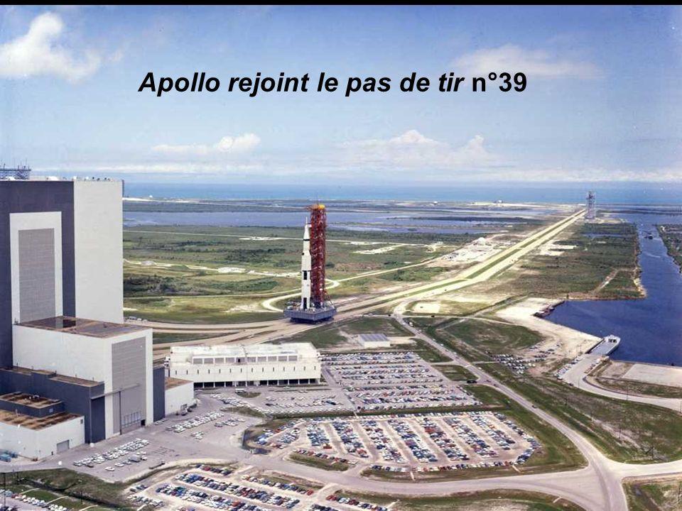 Apollo rejoint le pas de tir n°39