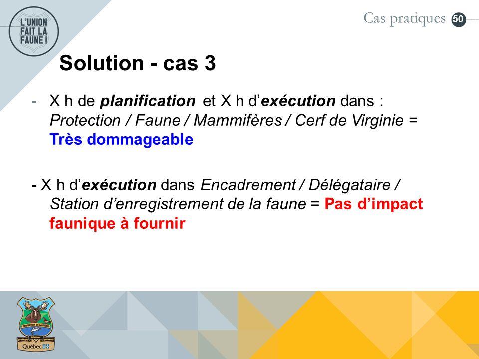 Solution - cas 3 Cas pratiques