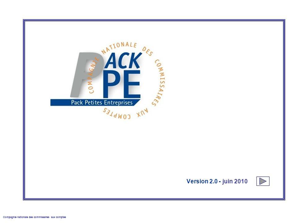 Version 2.0 - juin 2010 Compagnie nationale des commissaires aux comptes