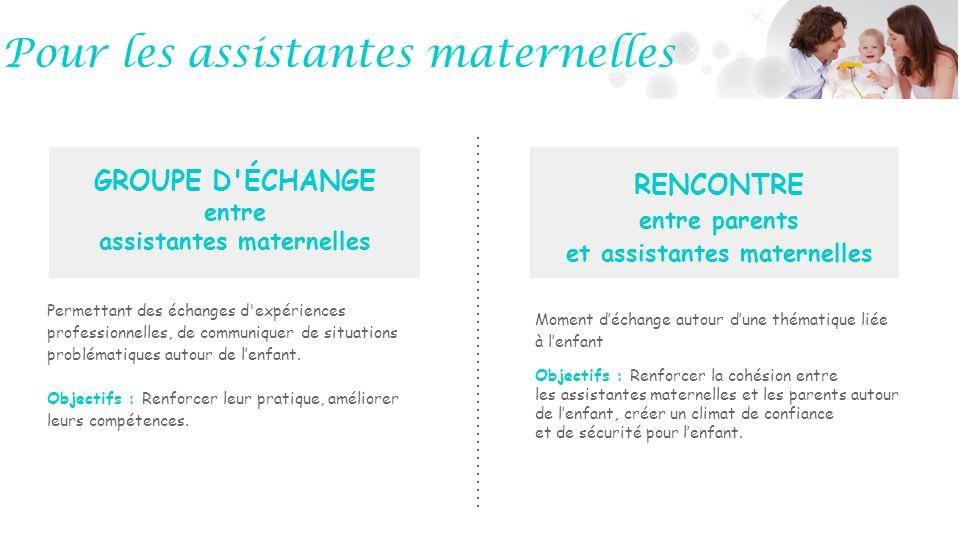 assistantes maternelles entre parents et assistantes maternelles