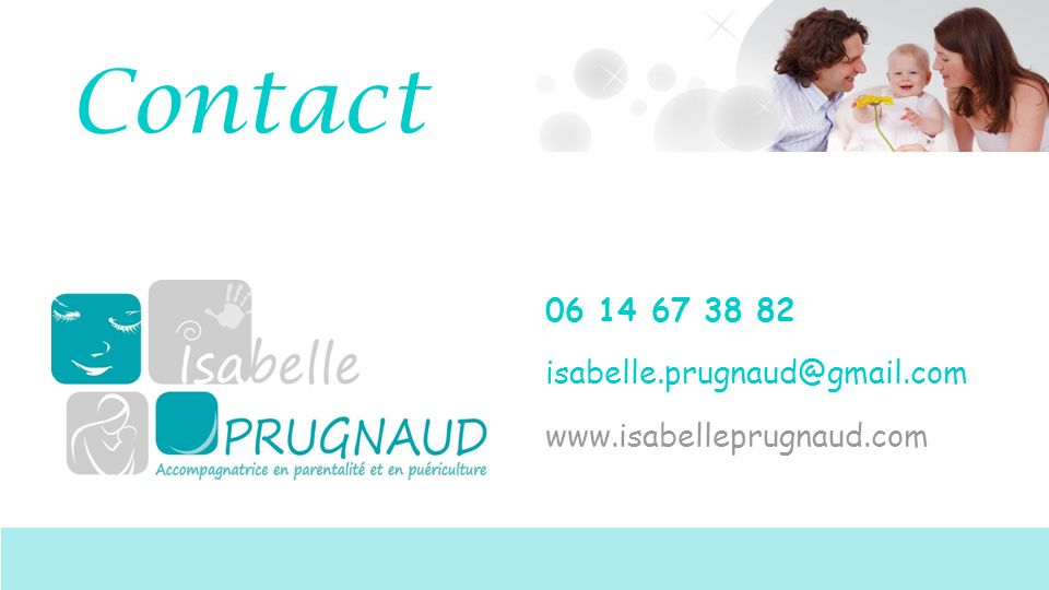 Contact 06 14 67 38 82 isabelle.prugnaud@gmail.com