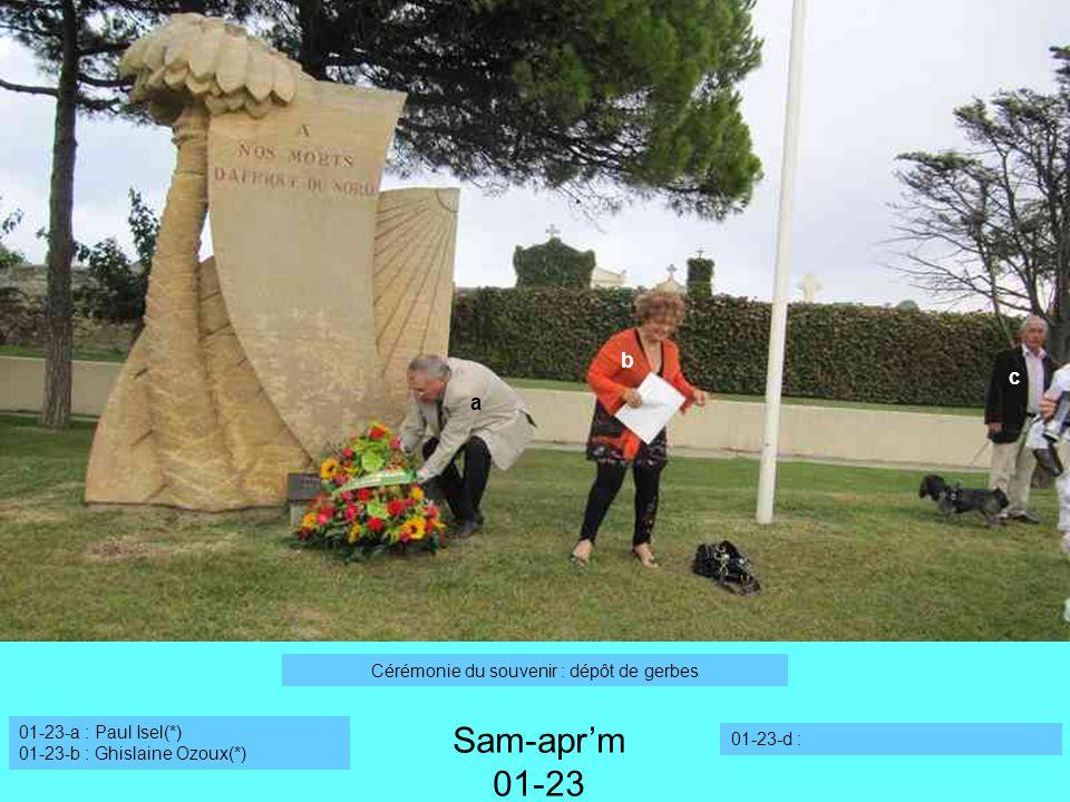 Sam-apr'm 12 Sam-apr'm 01-23 b c a