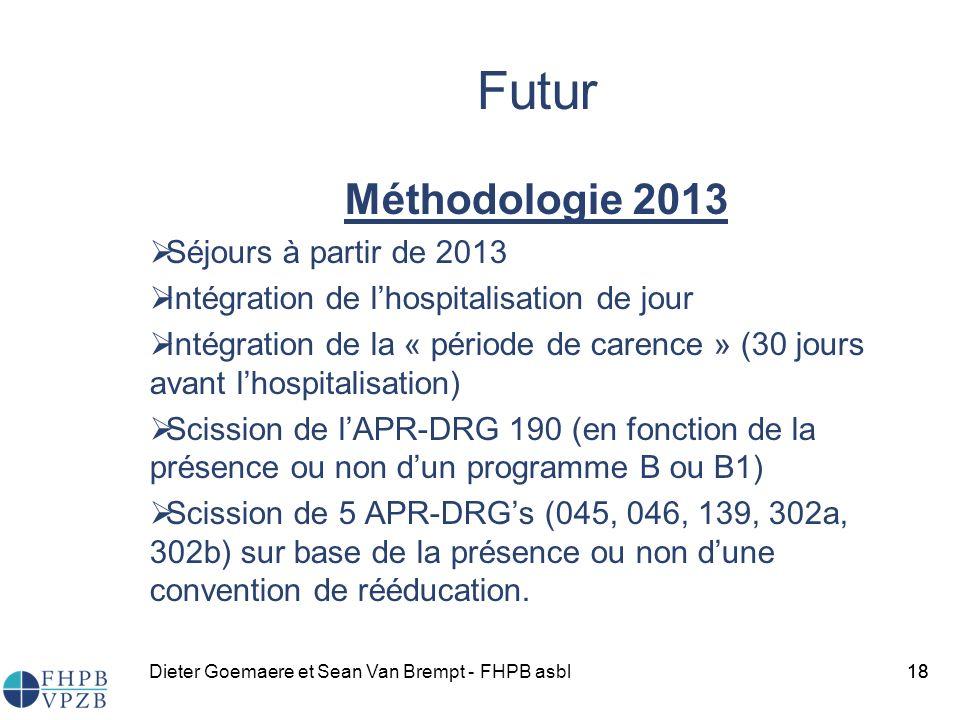 Futur Méthodologie 2013 Séjours à partir de 2013